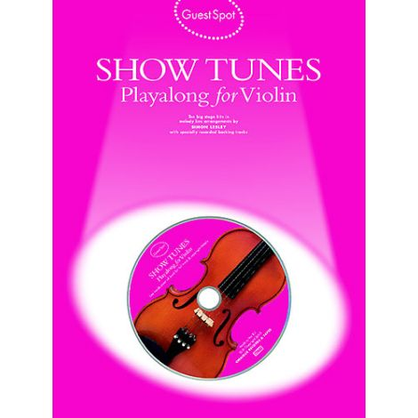 Lesley: Guest Spot  Showtunes Playalong For Violin
