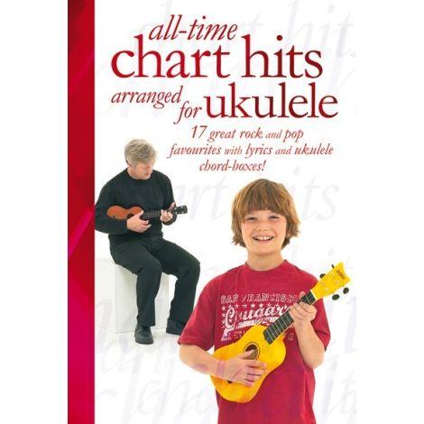 All-Time Chart Hits Arranged For Ukulele