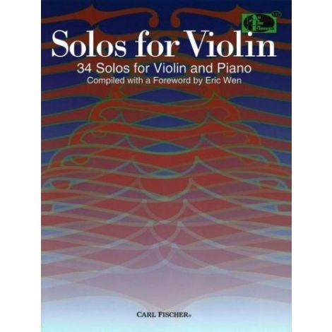 SOLOS FOR VIOLIN