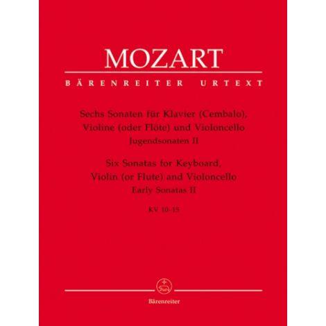 Mozart: Six Sonatas for Keyboard, Violin (or Flute