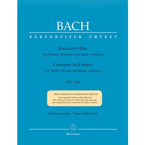 Bach: Violin Concerto in E Major - BWV1042 (Urtext