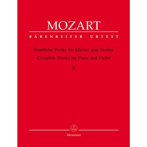 Mozart Complete Works for Violin & Piano, Vol. 2