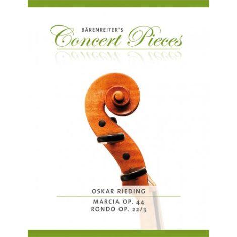 Rieding: Marcia Op. 44 / Rondo Op. 22/3 for Violin