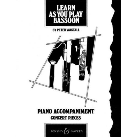 Learn As You Play Bassoon (Teachers Book) PIANO ACCOMPANIMENTS
