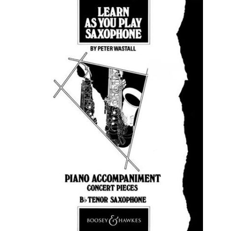 Learn As You Play Saxophone (Tenor) (Teachers Book)