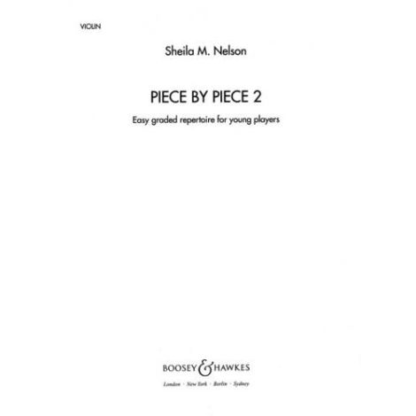 Piece By Piece Book 2 (Violin Part)