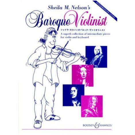 Sheila M. Nelson's Baroque Violinist (Violin & Pia