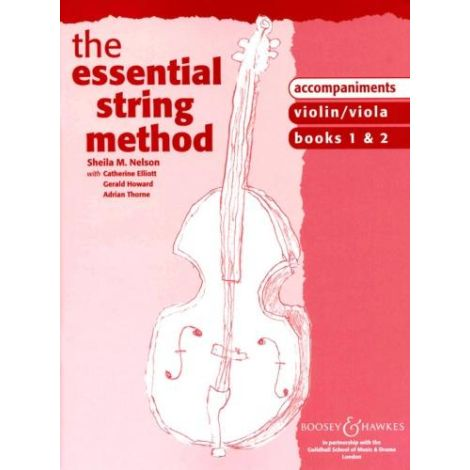 Sheila Nelson: Essential String Method 1 & 2 (VIOLIN/VIOLA) PIANO ACCOMPANIMENTS