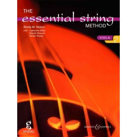 Sheila Nelson: Essential String Method Book 2 (Viola)