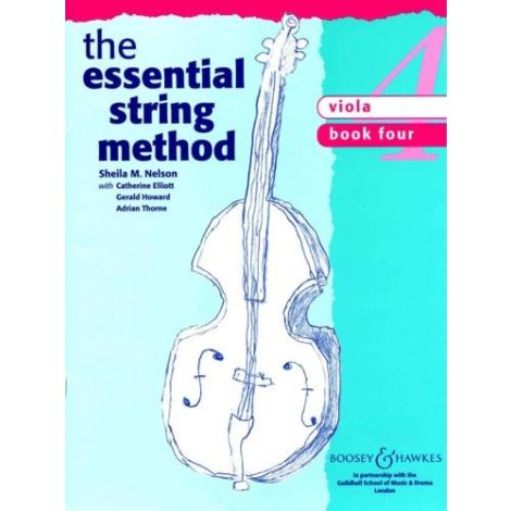 Sheila Nelson: Essential String Method Book 4 (Viola)