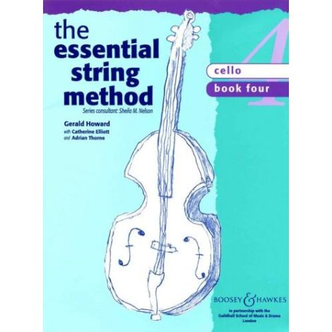 Sheila Nelson: Essential String Method Book 4 (Cello)