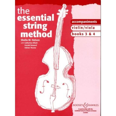 Sheila Nelson: Essential String Method 3 & 4 (ViolIN/VIOLA) PIANO ACCOMPANIMENTS