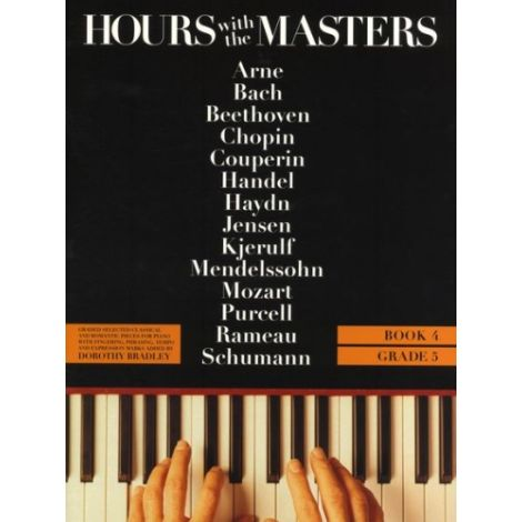Hours With The Masters Book 4 Grade 5 (Piano Solo)