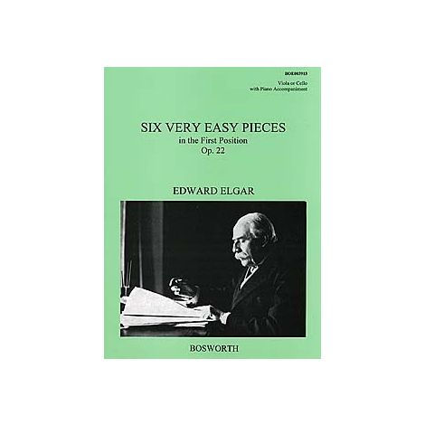 Edward Elgar: Six Very Easy Pieces Op.22