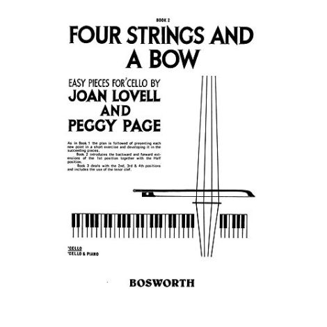 Joan Lovell/Peggy Page: Four Strings And A Bow Book 2 (Cello Part)