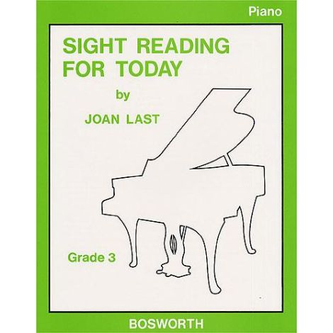 Last: Sight Reading For Today  Piano Grade 3
