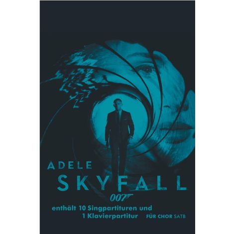 Adele: Skyfall (SATB/Piano Pack)