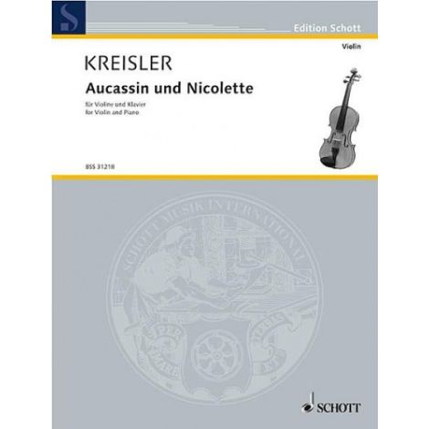 AUCASSIN UND NICOLETTE (CANZONETTA MEDIEVALE) VIOLIN/PIANO