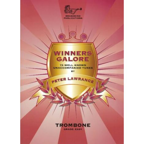 Winners Galore for Trombone (Bass Clef) Part only