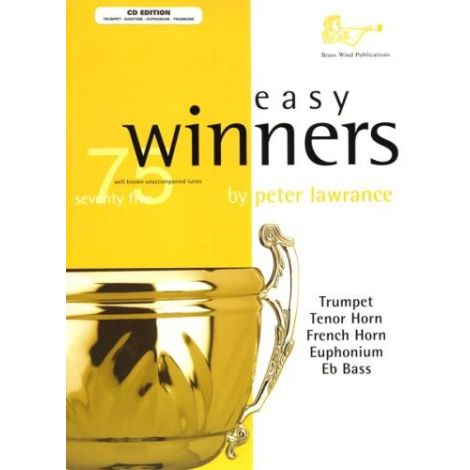 Easy Winners for Treble Clef Brass (Part & CD) Trumpet/Trombone/Euphonium