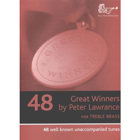 Great Winners for Treble Clef Brass (Part only) Trumpet/Horn/Euphonium