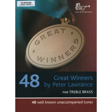 Great Winners for Treble Clef Brass (Part & CD) Trumpet/Trombone/Euphonium