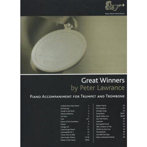 Great Winners for Bb Treble Clef Brass (Piano Accompaniment)