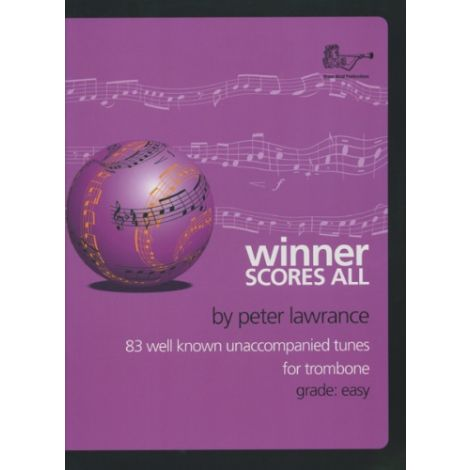 Winner Scores All for Trombone (Bass Clef) Solo Part