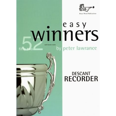 Easy Winners for Descant Recorder (Part only)