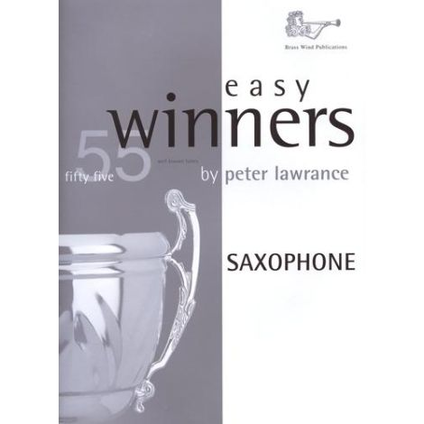 Easy Winners for Saxophone (Eb or Bb) Part only