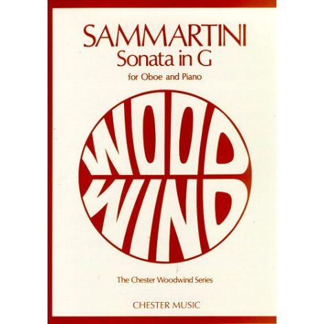 Giovanni Sammartini: Sonata In G  For Oboe And Piano