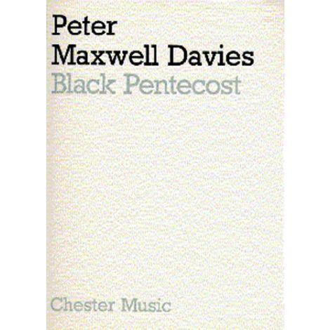 Peter Maxwell Davies: Black Pentecost