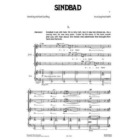 Sindbad Vocal Score