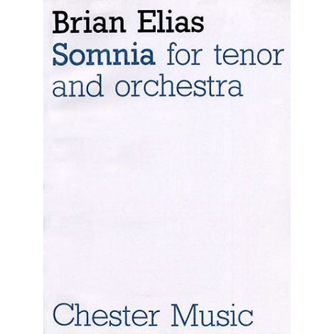 Brian Elias: Somnia (Score)
