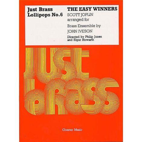 Scott Joplin (Arr. Iveson): The Easy Winners - Just Brass Lollipops No.6