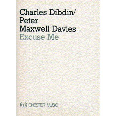 Charles Dibdin/Peter Maxwell Davies: Excuse Me