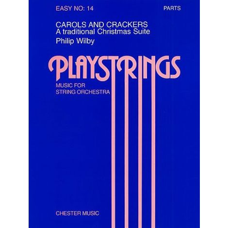 Playstrings Easy No. 14: Carols And Crackers (Wilby)