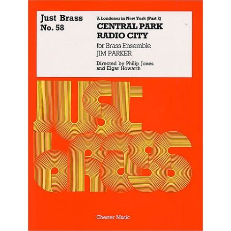Jim Parker: A Londoner In New York (Part 2) - Score/Parts (Just Brass No.58)