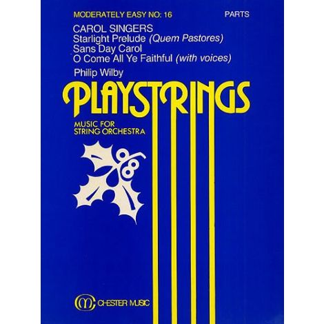 Playstrings Moderately Easy No. 16 Carol Singers (Wilby)
