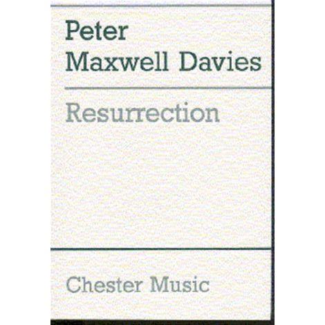 Peter Maxwell Davies: Resurrection