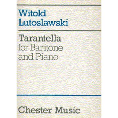 Witold Lutoslawski: Tarantella For Baritone And Piano