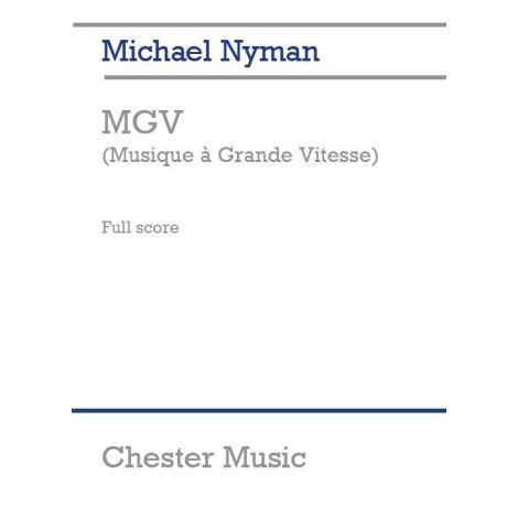 Michael Nyman: MGV (Musique A Grande Vitesse) - Study Score