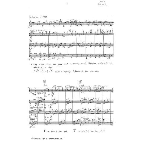 Benedict Mason: String Quartet No.2