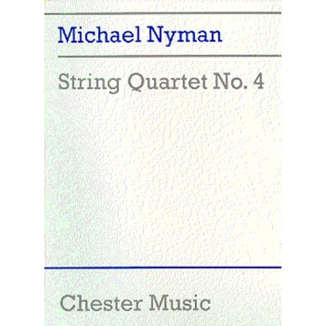 Michael Nyman: String Quartet No. 4 (Score)