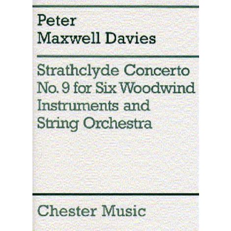 Peter Maxwell Davies: Strathclyde Concerto No. 9 Score And Parts