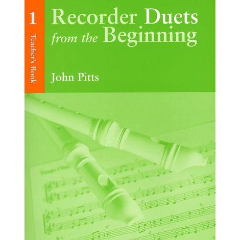 Recorder Duets From The Beginning: Teacher闂備胶鍋ㄩ崕鏌ユ偘  Book 1