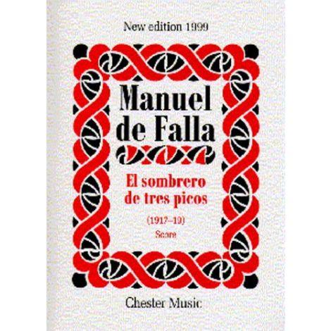 Manuel De Falla: El Sombrero De Tres Picos (Score)