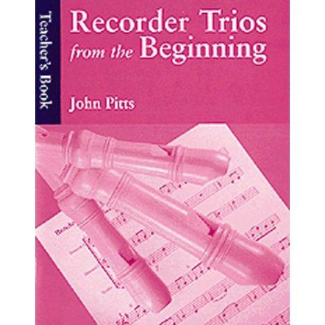 Recorder Trios From The Beginning: Teacher's Book