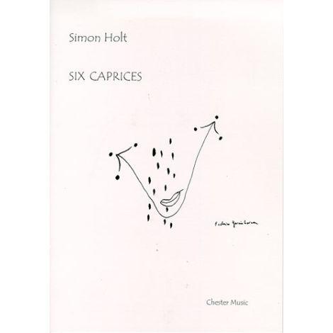 Simon Holt: Six Caprices
