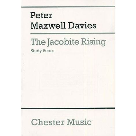 Peter Maxwell Davies: The Jacobite Rising Study Score
